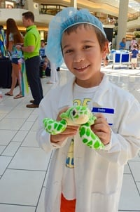 Marinelife Day Vet for a Day Winner