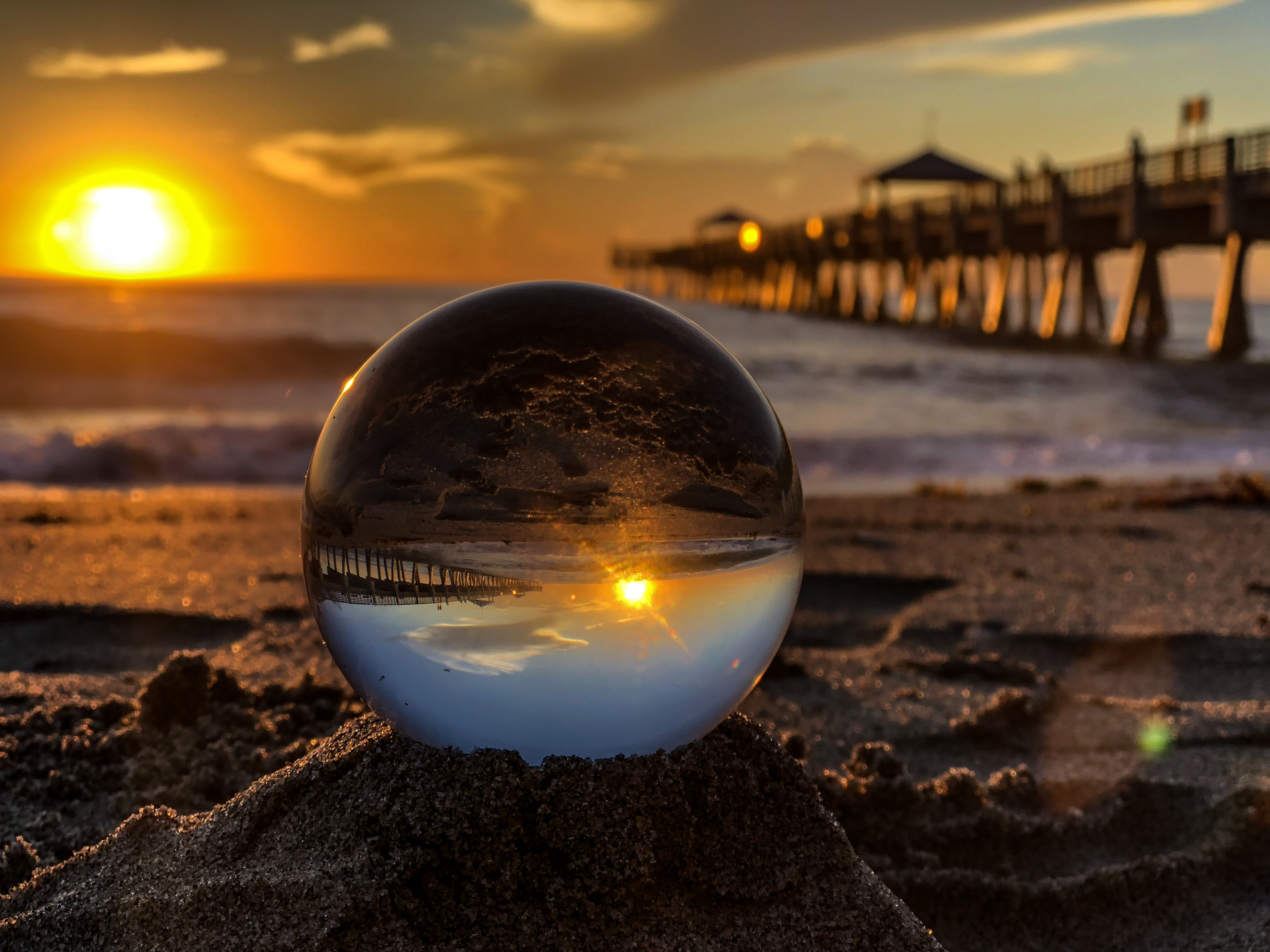 Juno Beach Pier Photo Contest winner, Travis Tudor.