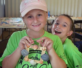 Camp girls 2016 crafts
