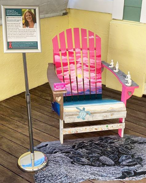 Pink Chair Project_Breast Cancer Awareness Month