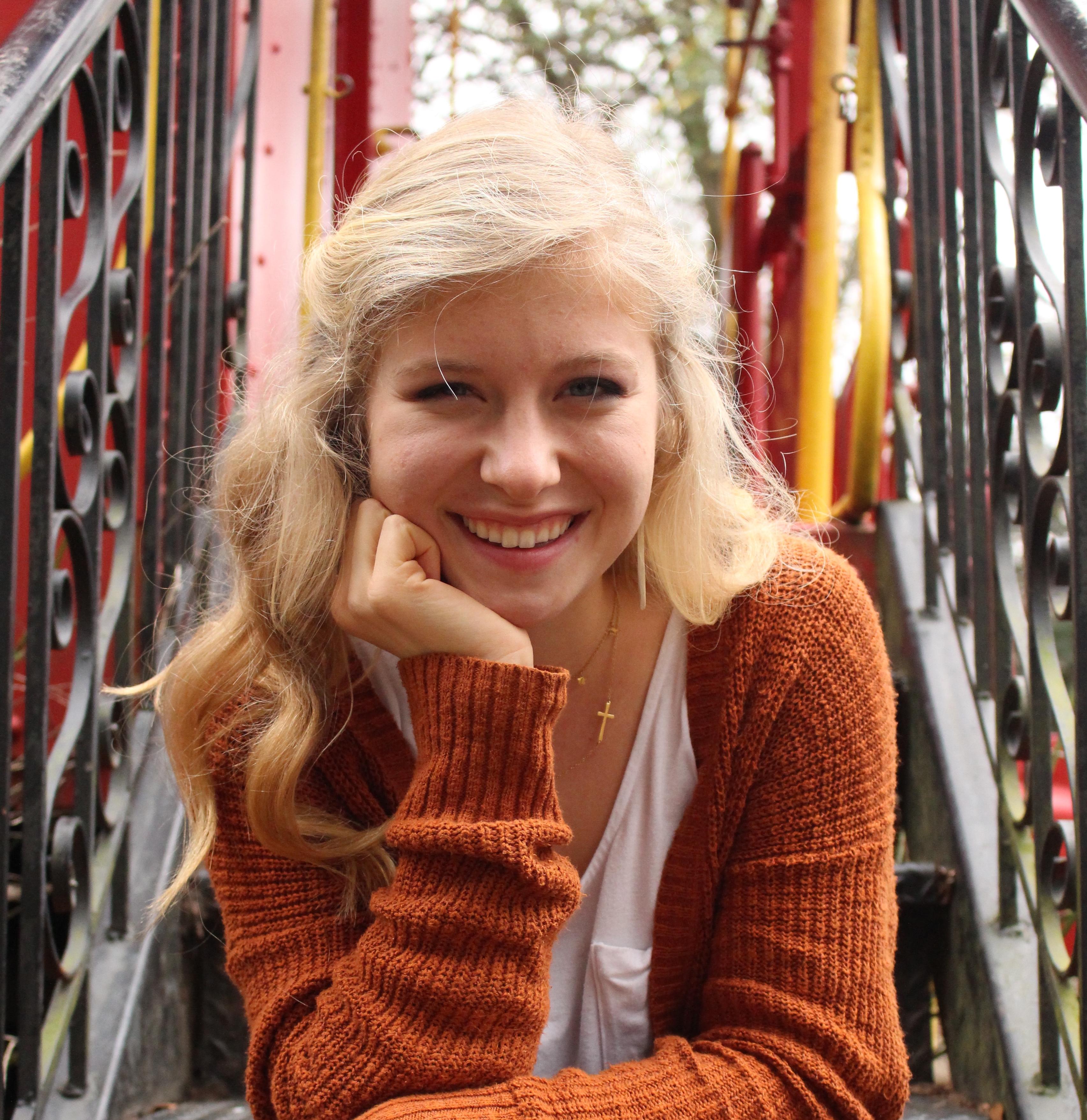 A photo of Clemson University Student, Ashley Crunk.