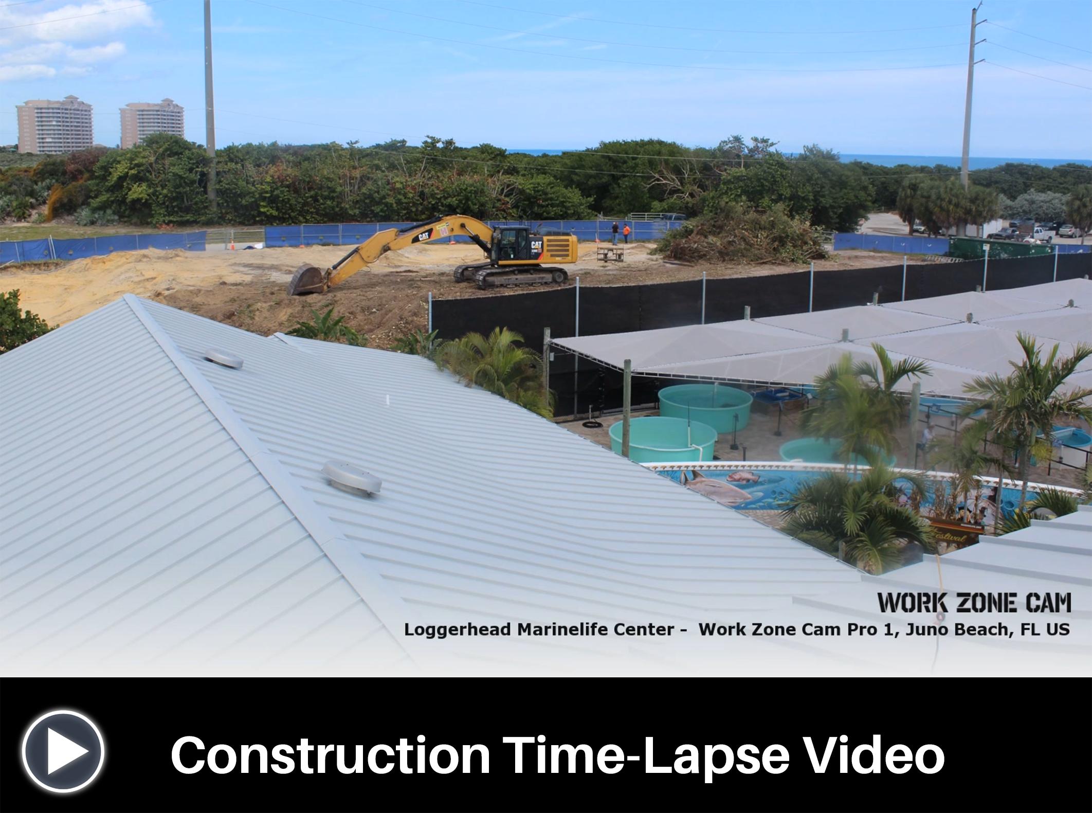 Construction Video Screen