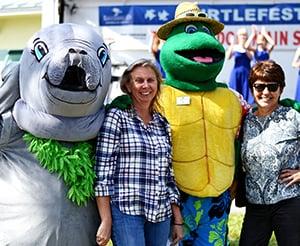 Turtlefest2018_miathemanateeandfletchweb