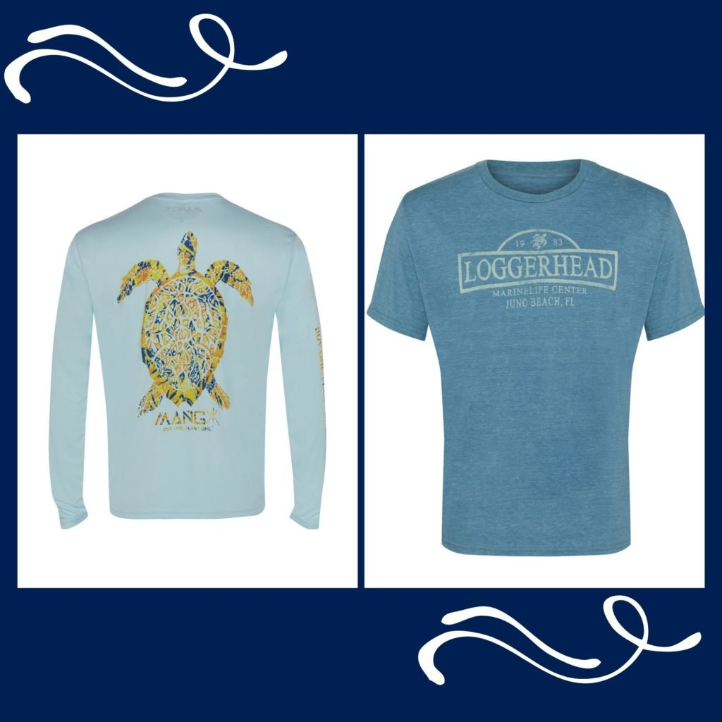 "Loggerhead Marinelife Center celebrates ""blue"" as part of Pantone's Color of The Year with blue apparel."