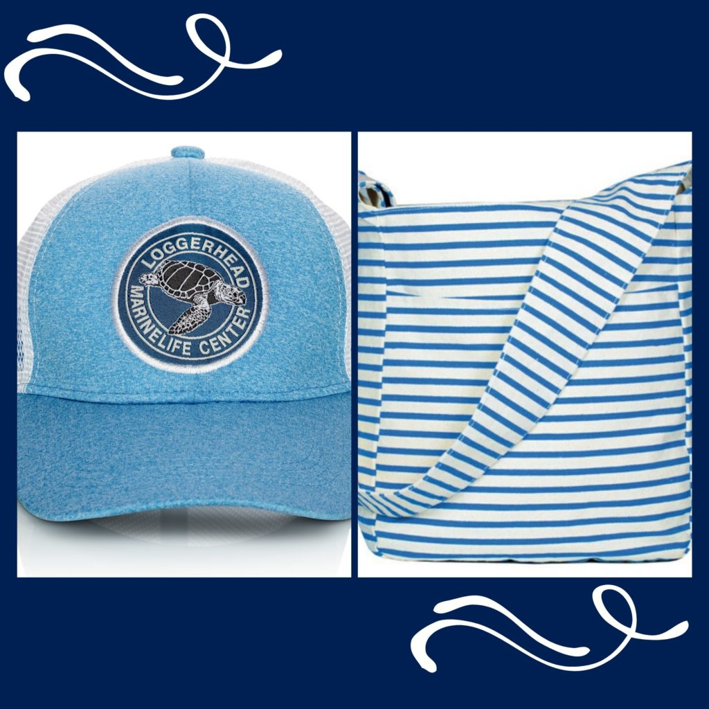 Loggerhead Marinelife Center's online store offers items in various shades of blue, including light blue.