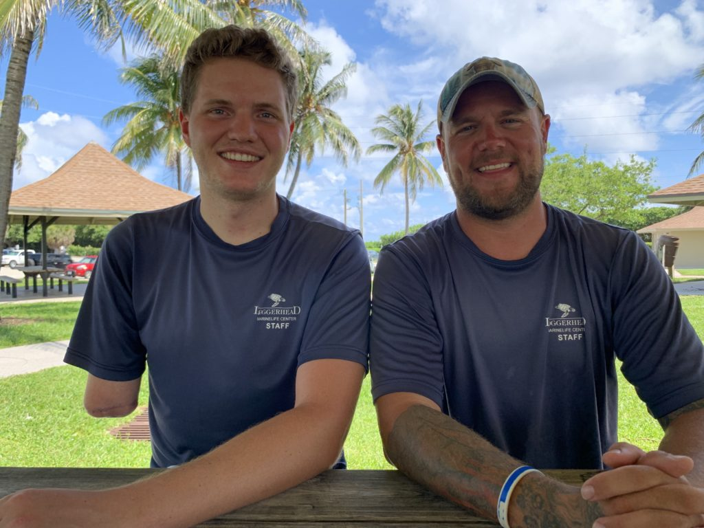 Loggerhead Marinelife Center's fish experts, Andy and Carter explore aquariums and fish ids on the Center's new educational YouTube playlist.