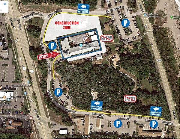 Loggerhead Park Parking Map September2020