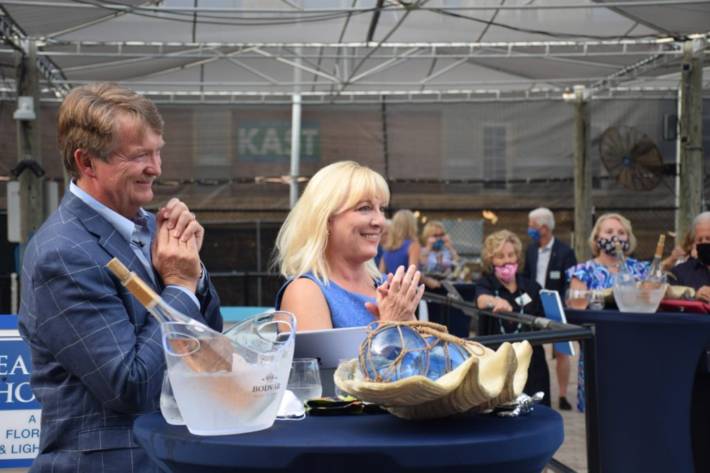 Lynne and Pete Wells serve as co-founders of the Go Blue Awards and announced the Go Blue Awards Finalists for 2020 at this year's virtual kick-off event.