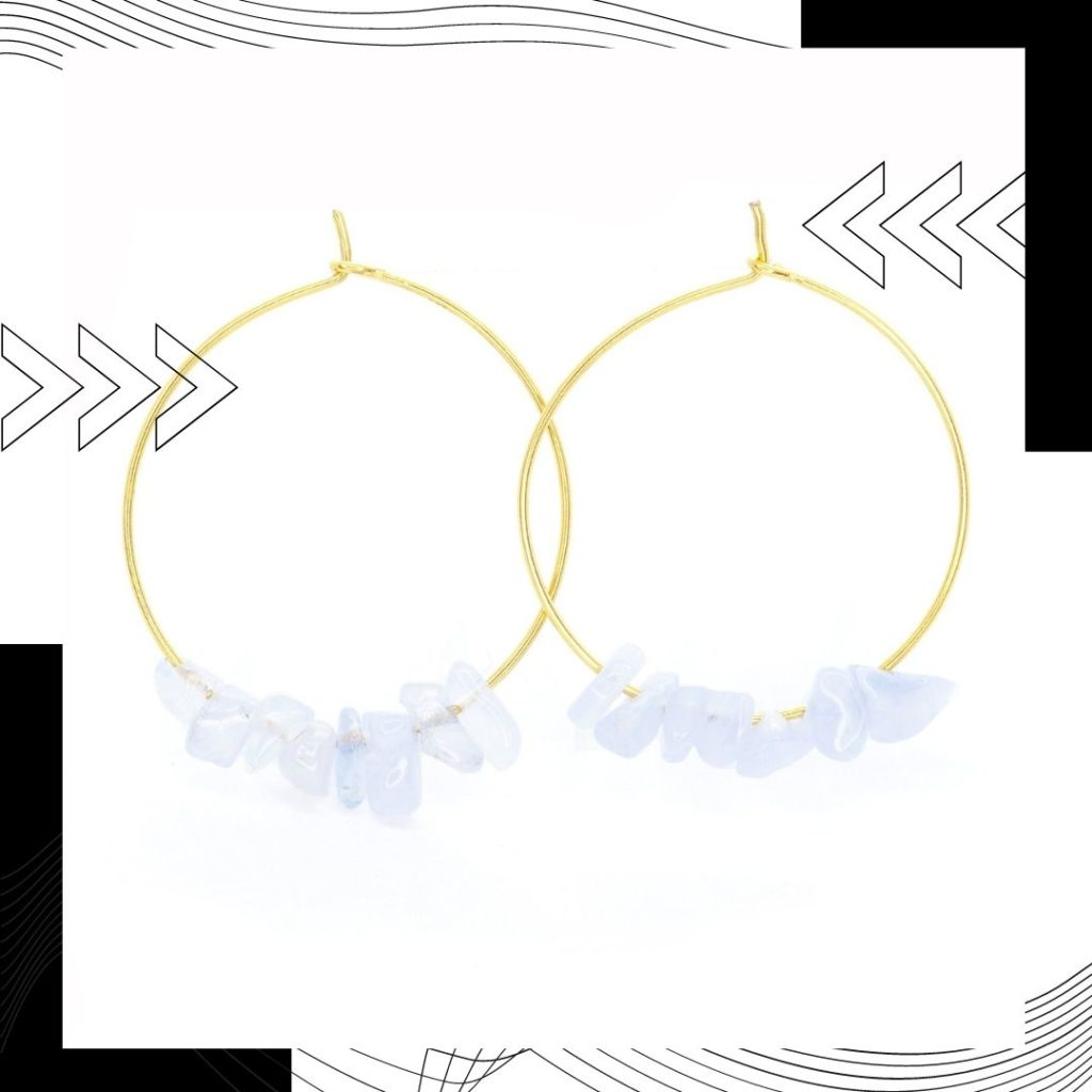 Stay stylish with these rock candy hoop earrings. All purchases support sea turtle and ocean conservation.