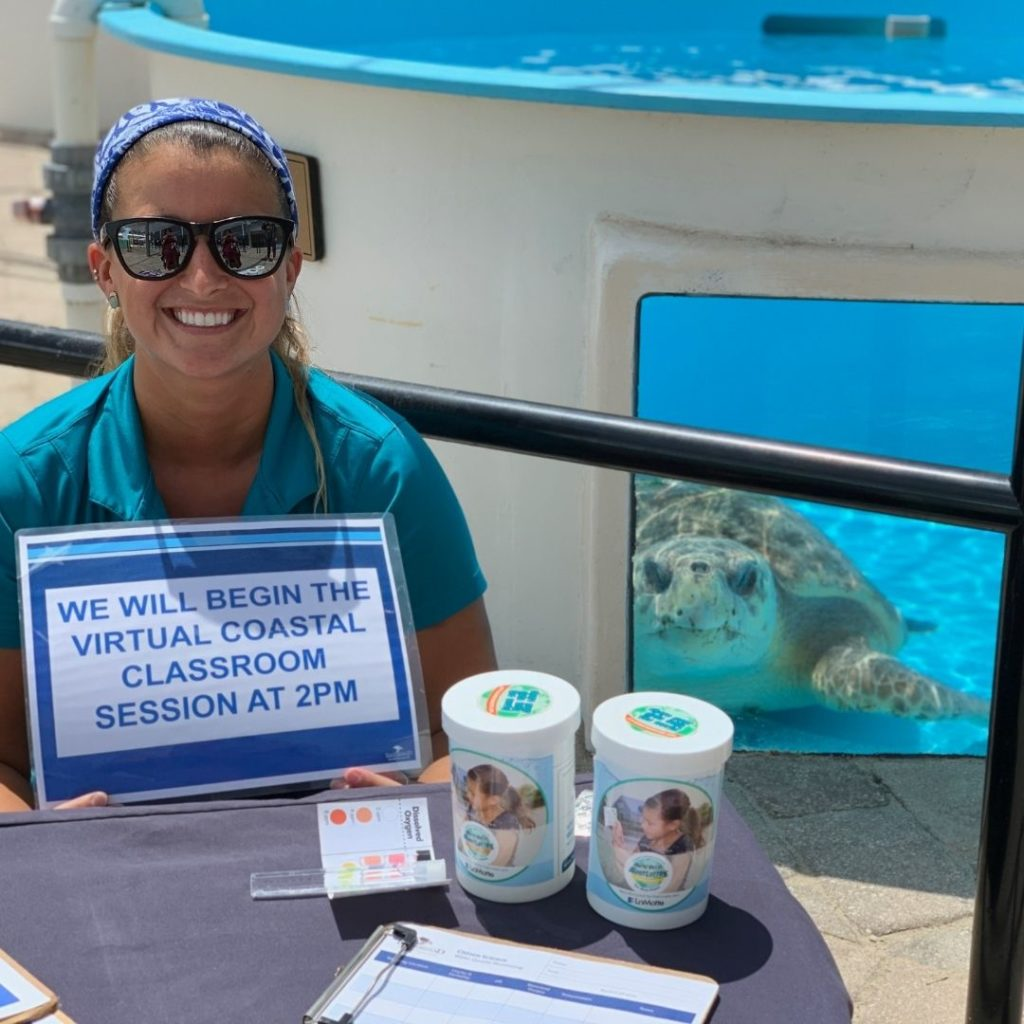 Loggerhead Marinelife Center celebrated many education highlights in 2020 including, launching its Virtual Coastal Classroom program.