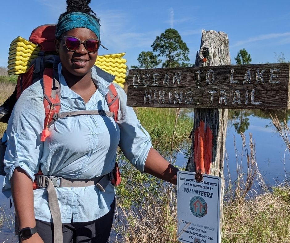 In-person Hike2O participants will hike half of Florida's Ocean To Lake Trail, which spans approximately 63 miles.