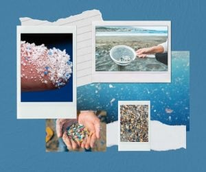 Microplastics in various settings