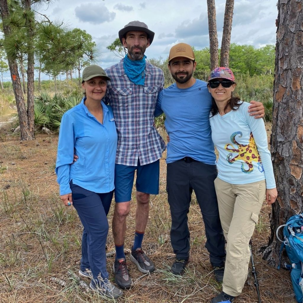 Hikers walked an average of ten miles per day and participated in daily conversations about sustainability and equity in outdoor education.