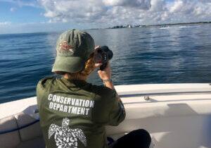 Photo 2_Recording Boat Speeds